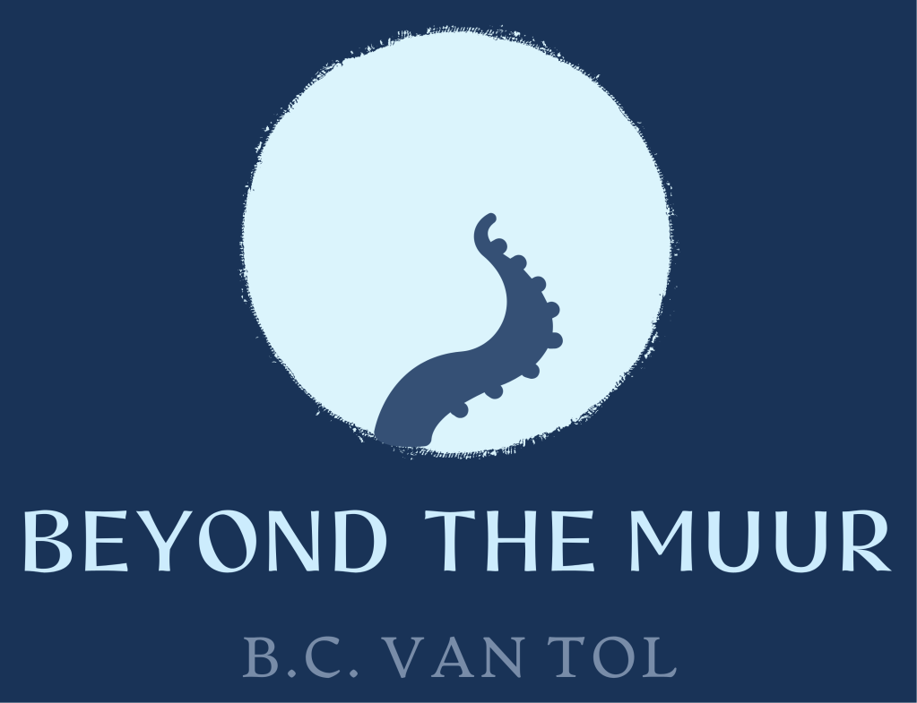 Beyond the Muur by B.C. van Tol cover art concept.